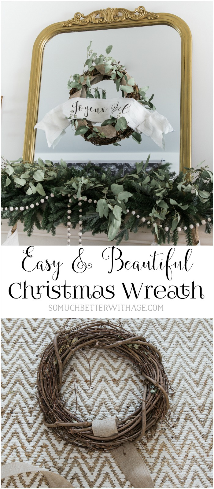 Easy & Beautiful Grapevine Wreath