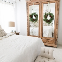 French Master Bedroom Christmas Tour