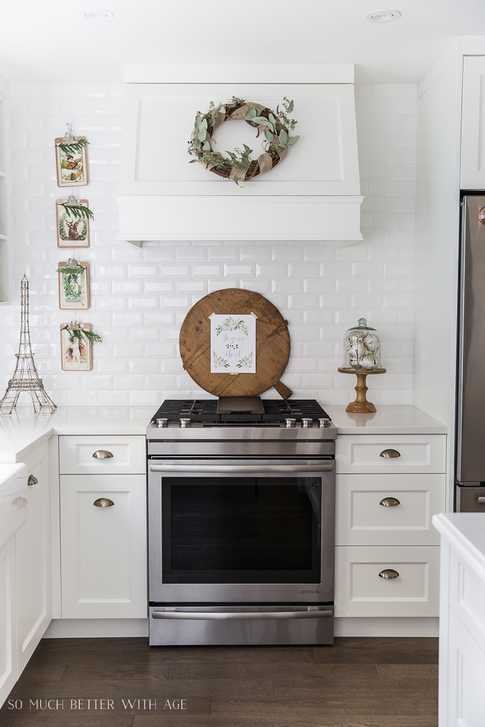 French Vintage Kitchen Christmas Tour | So Much Better With Age