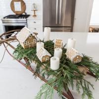 French Vintage Kitchen Christmas Tour + Video