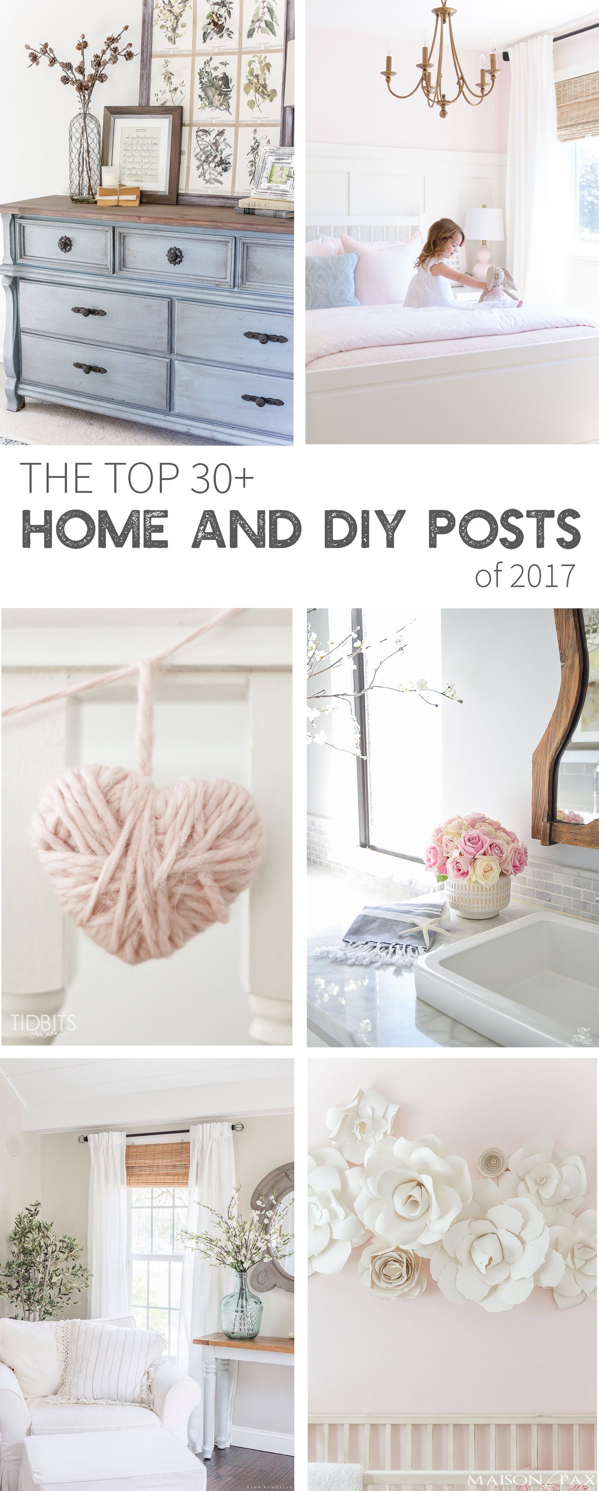 Top 30+ Home and DIY Posts of 2017