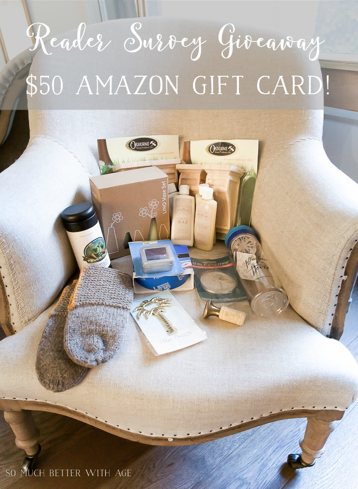 Home Style Saturdays + Survey and Giveaway!