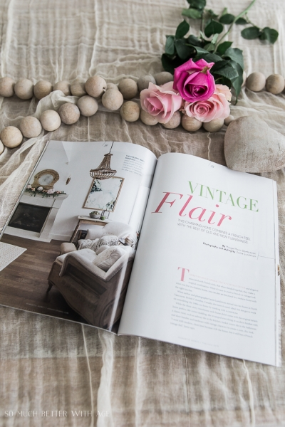 Romantic Homes Magazine – French Style Edition