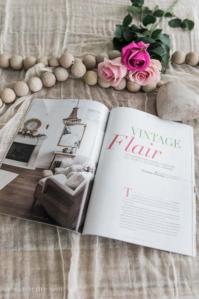10 Kitchen And Home Decor Items Every 20 Something Needs: Romantic Homes Magazine - French Style Edition
