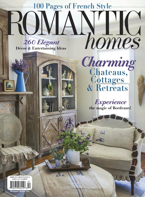 Romantic Homes Magazine French Style edition - Feb 2018
