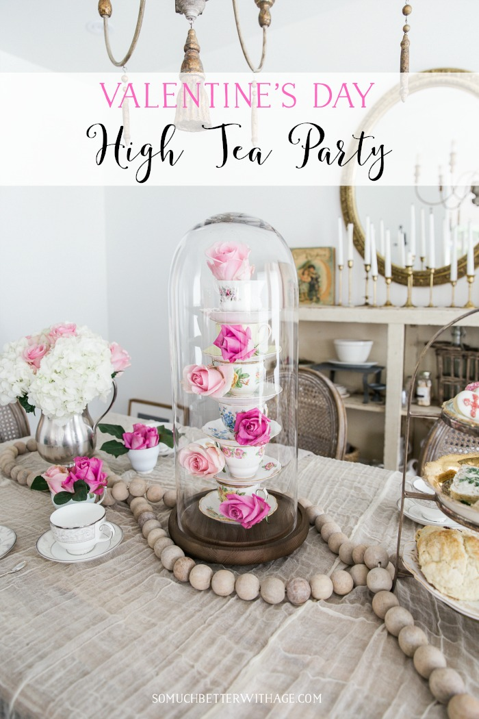 Valentine's Day High Tea Party graphic - So Much Better With Age