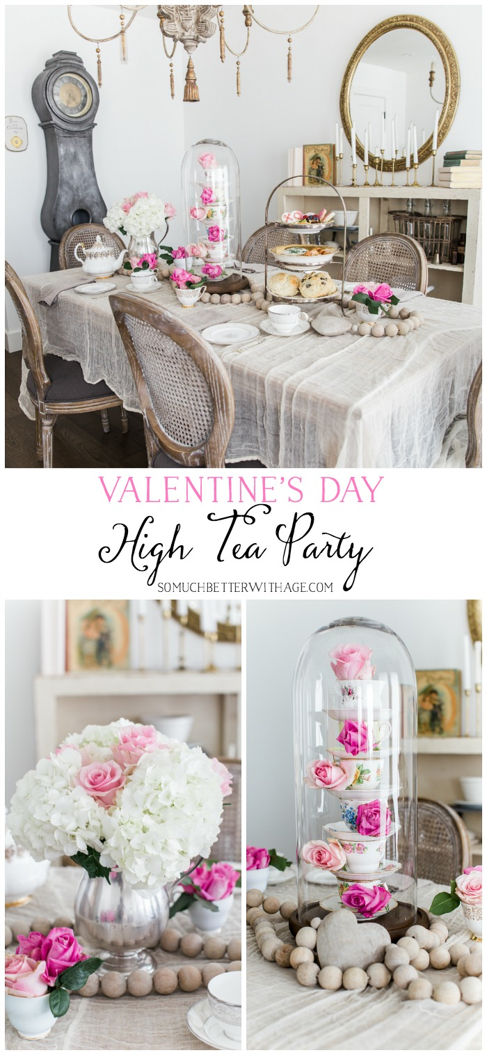 Valentine's Day High Tea Party - So Much Better With Age