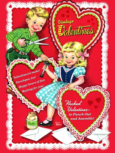 Home Style Saturday No 70 Vintage Valentine S Day Cards So Much