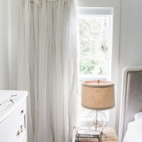 How to Sew Blackout Lining to Store Bought Curtains