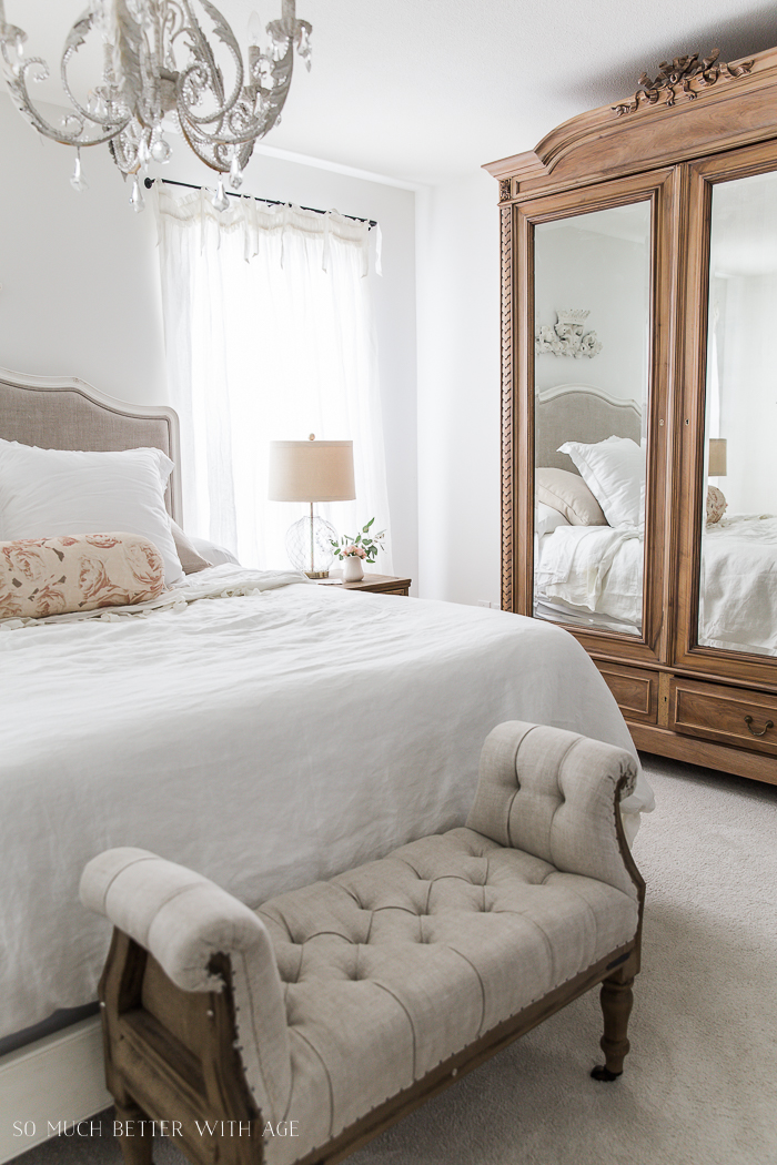 How to Decide Whether or Not to Give Antique Furniture a Makeover/French bedroom - So Much Better With Age