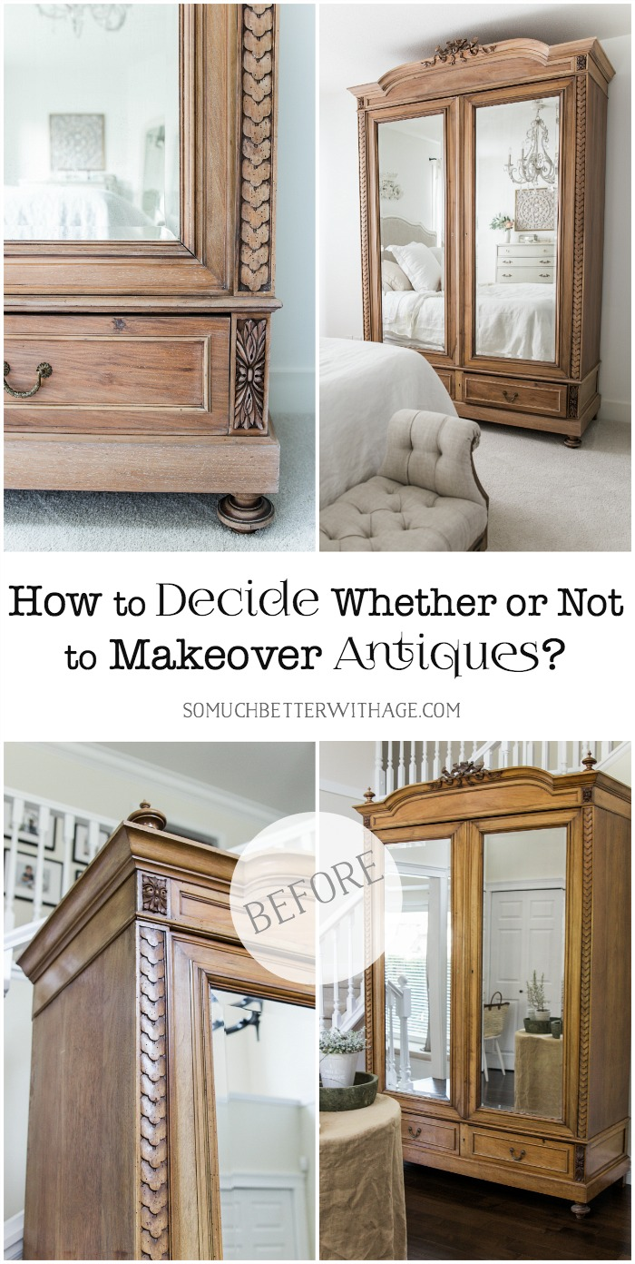 How to Decide Whether or Not to Makeover Antiques - So Much Better With Age