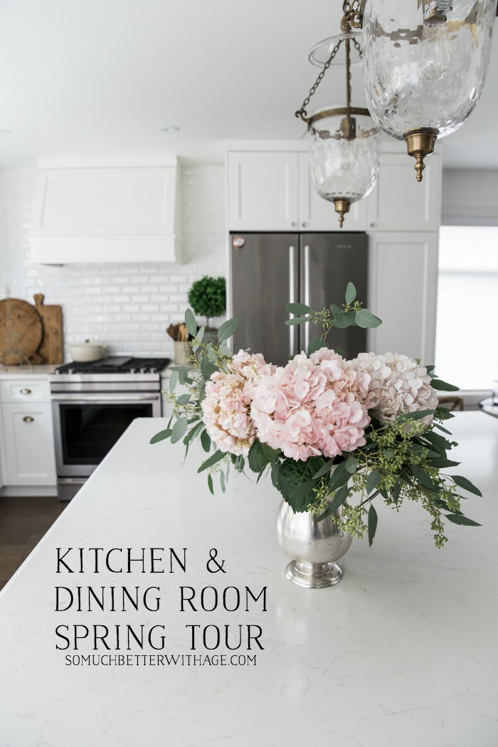 Canadian Spring Tour - Kitchen and Dining Room - So Much Better With Age