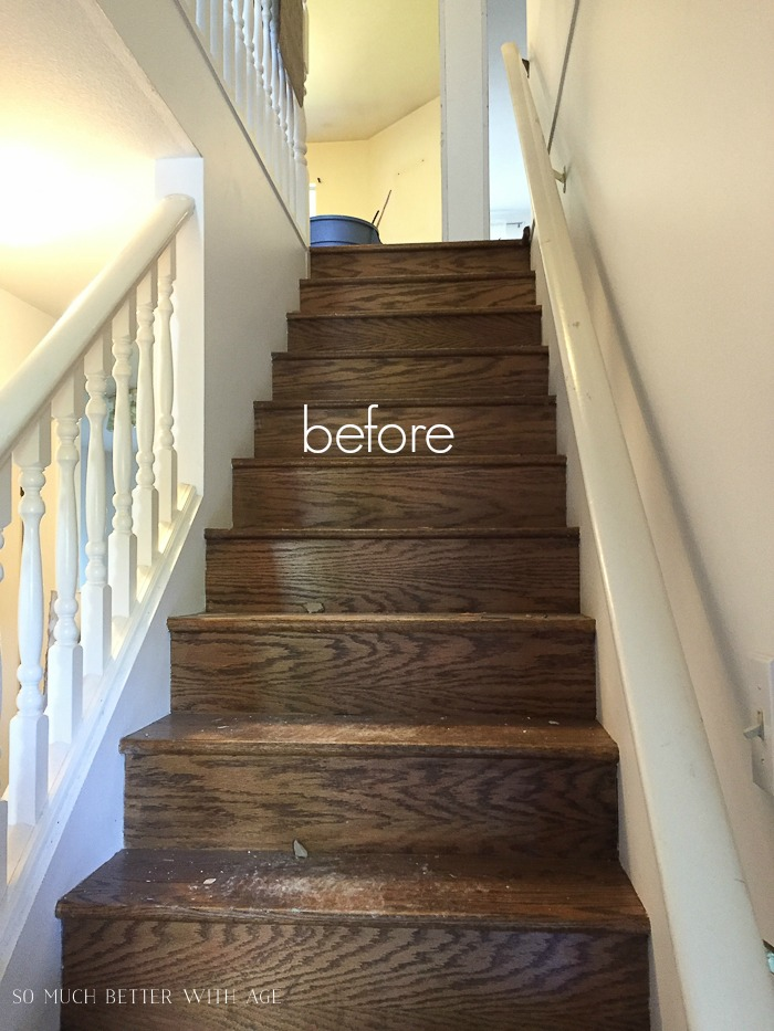 French Vintage Living Room and Foyer/stairs before - So Much Better With Age