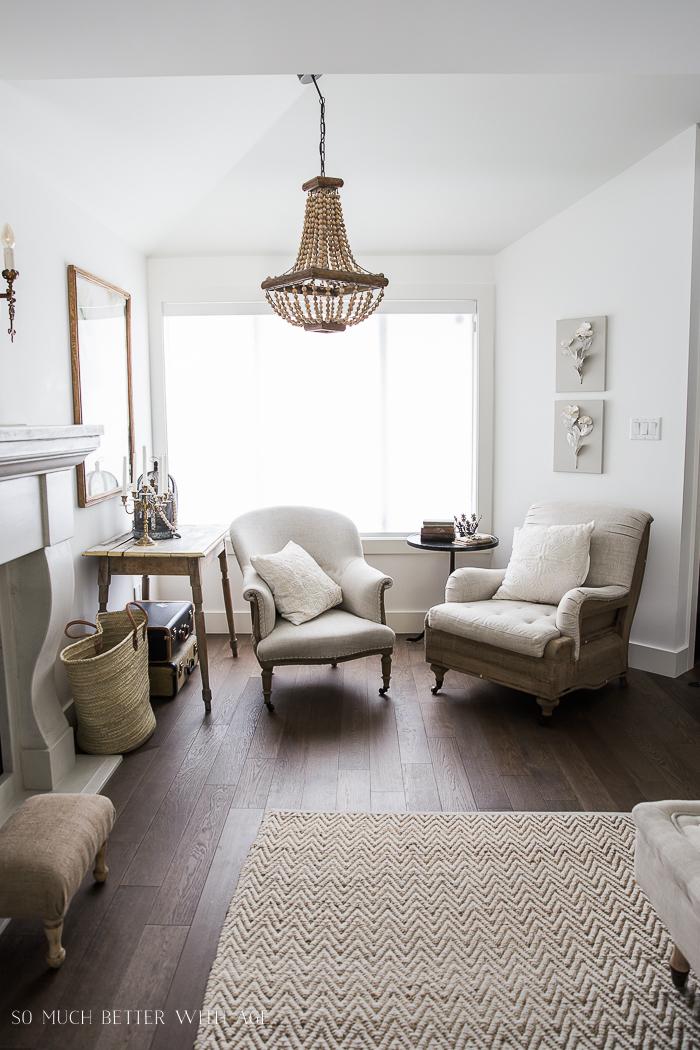 French Vintage Living Room and Foyer/vintage chairs - So Much Better With Age