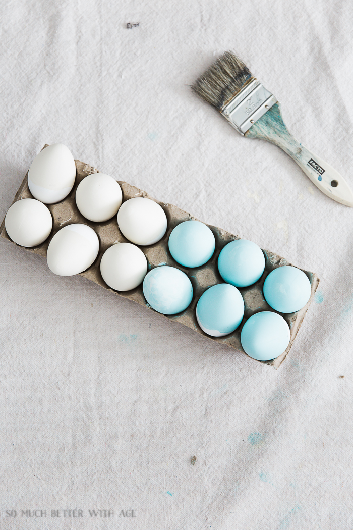 The Perfect Shade of Robin's Egg Blue for Easter Eggs/painted eggs - So Much Better With Age