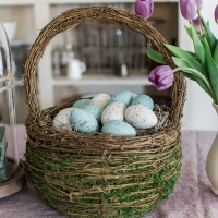 The Perfect Shade of Robin's Egg Blue for Easter Eggs