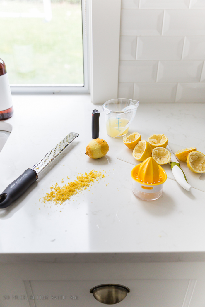 Best Lemon Meringue Pie/zest lemons - So Much Better With Age