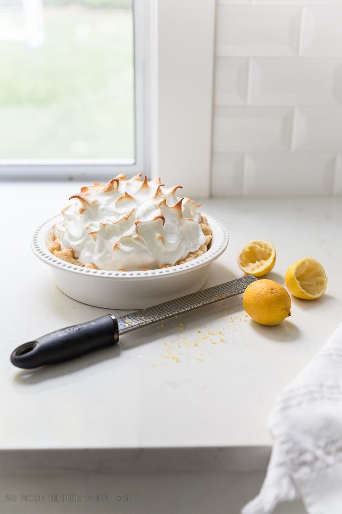 Best Lemon Meringue Pie/mile high meringue - So Much Better With Age