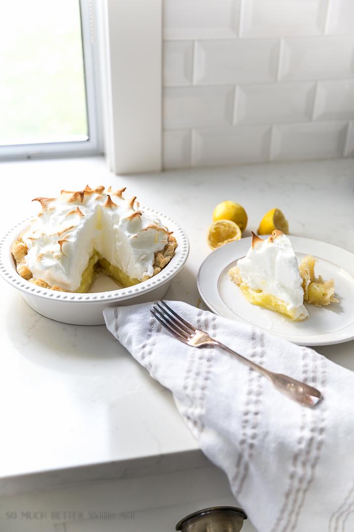 Best Lemon Meringue Pie/white kitchen - So Much Better With Age