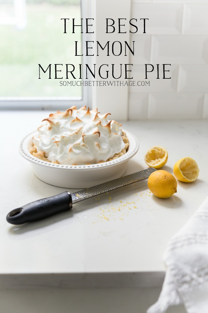 The Best Lemon Meringue Pie - So Much Better With Age