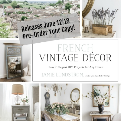 French Vintage Decor Book