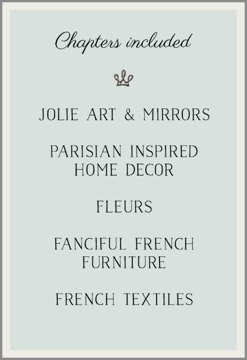 French Vintage Decor by Jamie Lundstrom /chapters included - So Much Better With Age