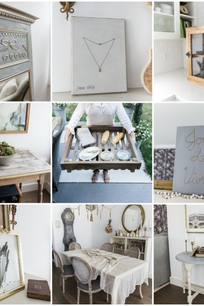 The Blood, Sweat and Tears of My Book, French Vintage Decor