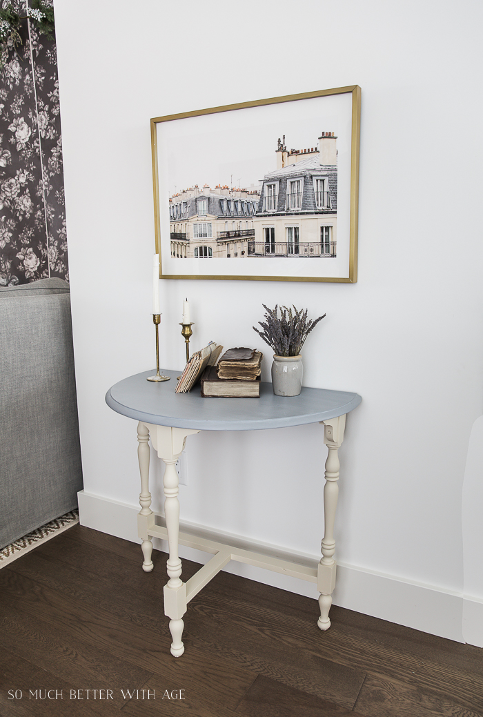 French Vintage Decor by Jamie Lundstrom /Paris building table - So Much Better With Age