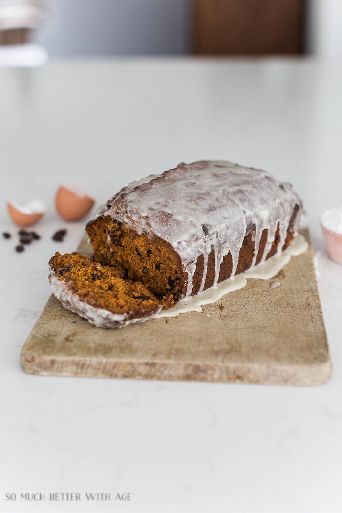 Tomato Soup Cake/Loaf with Icing Glaze Recipe - So Much Better With Age