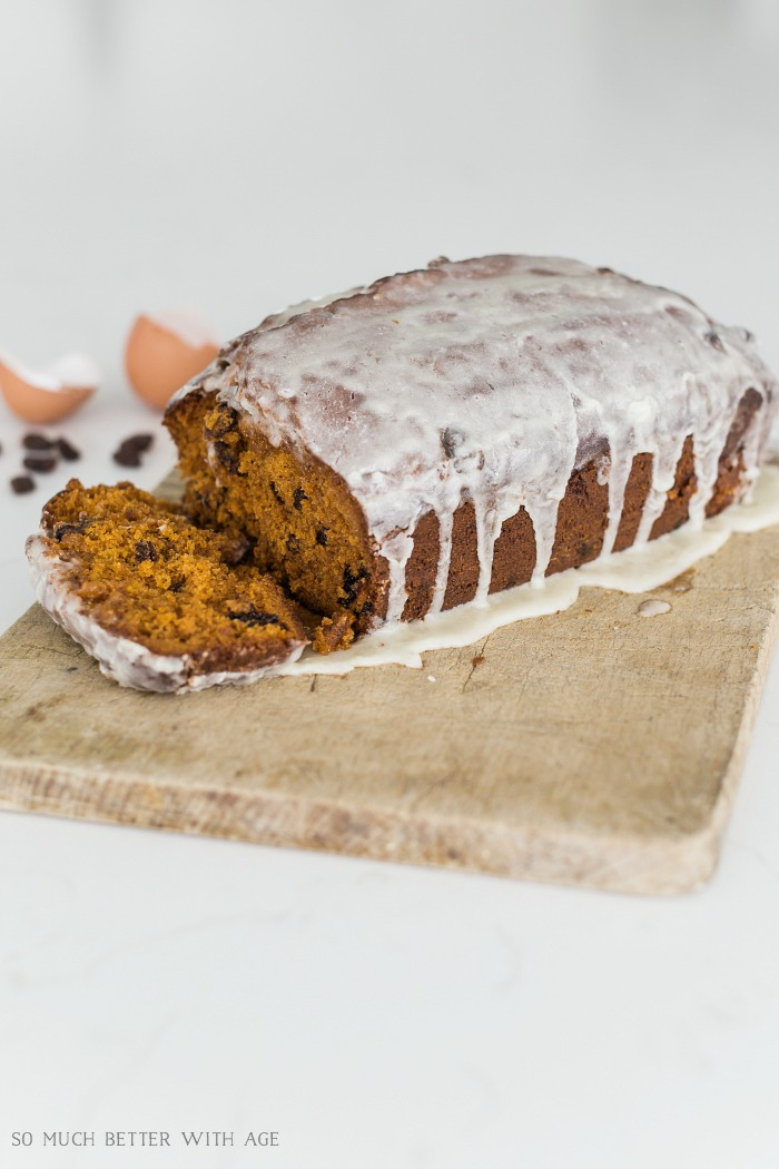 Tomato Soup Cake/Loaf with Icing Glaze Recipe with Breville - So Much Better With Age