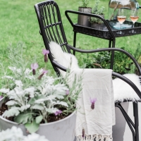 How to Create Two Outdoor Seating Areas in a Small Space