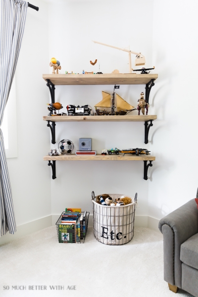 DIY Wooden Shelves & How to Install Them