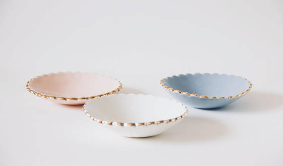 The Best Mother's Day Gifts from Etsy /Scalloped ring dish - Noemiah