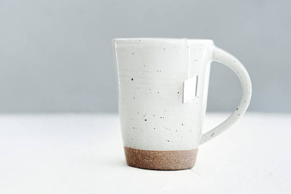 The Best Mother's Day Gifts from Etsy /White mug Sawyer Ceramics - So Much Better With Age