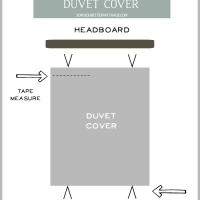 Sew Ties on a Duvet Cover (When Your Duvet Cover Is Larger Than Your Duvet)