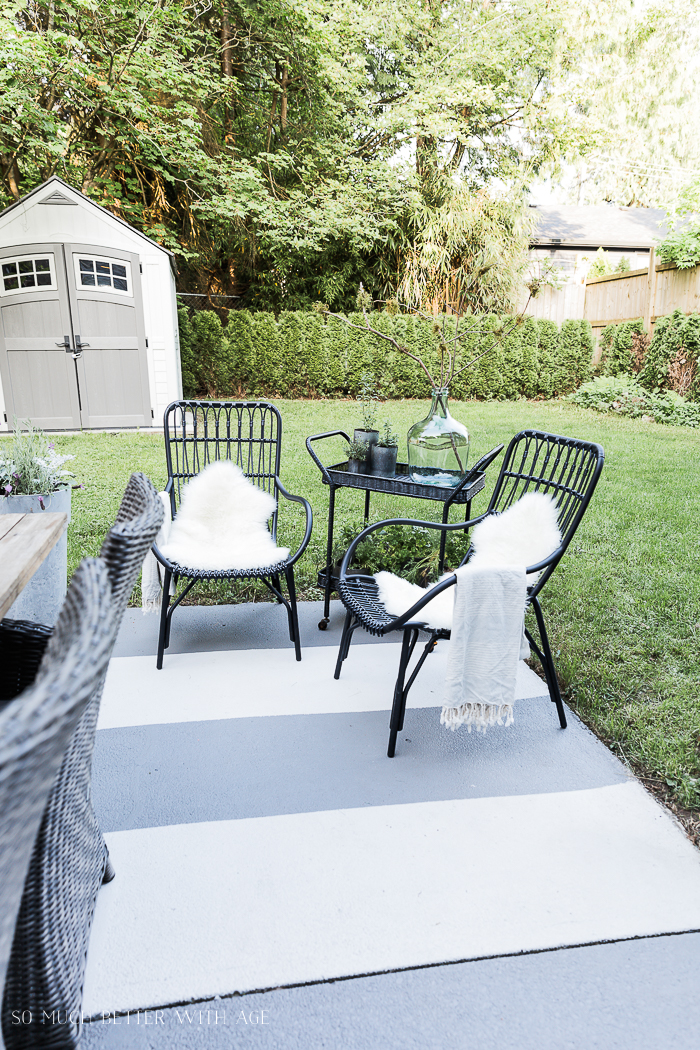 Outdoor Seating Areas In A Small E