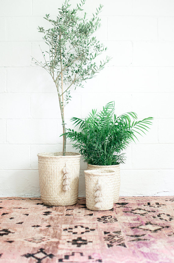 The Best Mother's Day Gifts from Etsy /Tassel plant basket Xinh and Co. Goods-So Much Better With Age