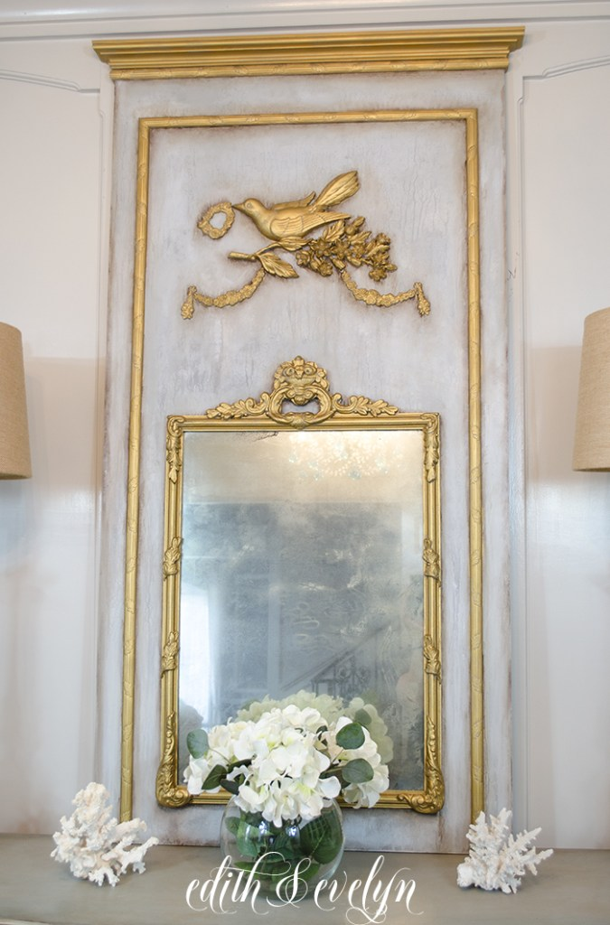 More French Vintage Decor Book Projects from Friends/trumeau mirror - So Much Better With Age