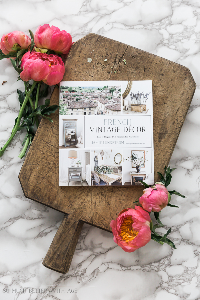 More French Vintage Decor Book Projects from Friends/Shabbyfufu - So Much Better With Age