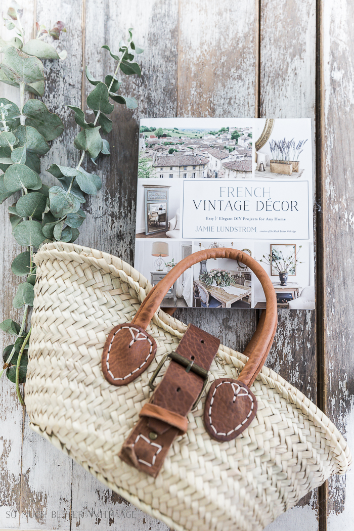 French Vintage Decor Projects From Blogger Friends Giveaways So
