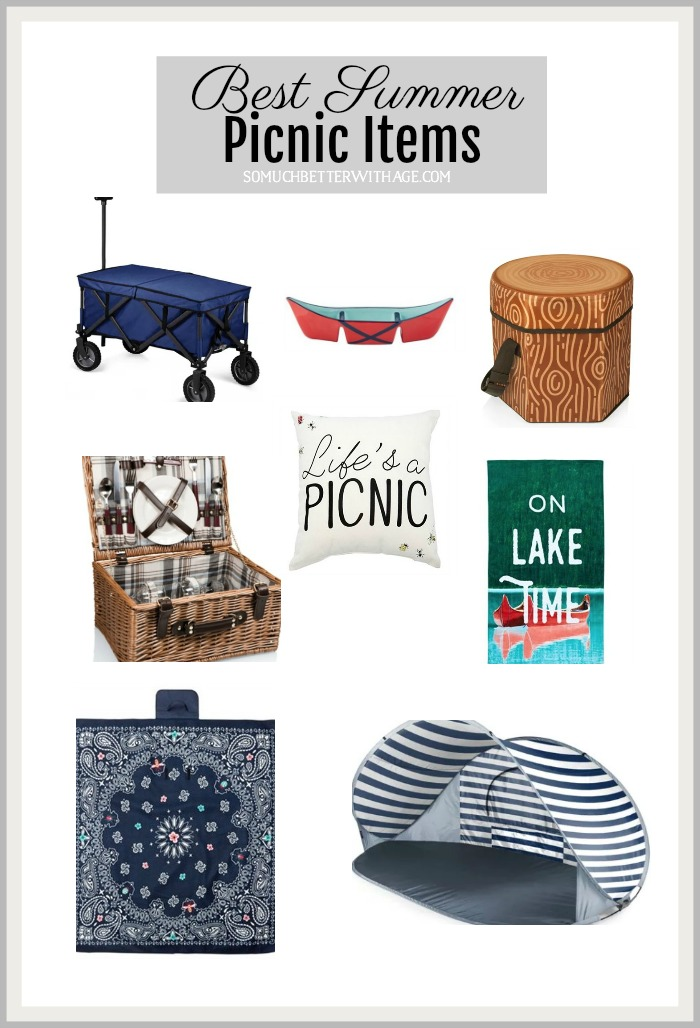 The Best Summer Picnic Items - So Much Better With Age