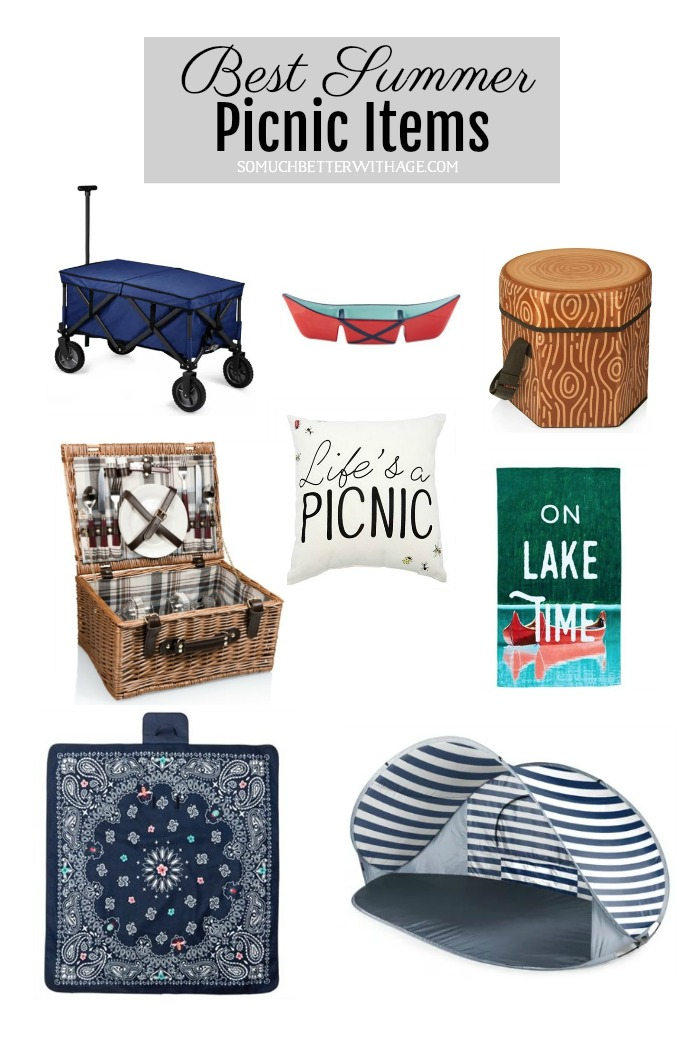Best Summer Picnic Items - So Much Better With Age