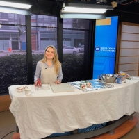 Plaster Dipped Flower Art from French Vintage Decor on Breakfast Television Vancouver