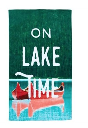 The Best Summer Picnic Items/lake time towel - So Much Better With Age