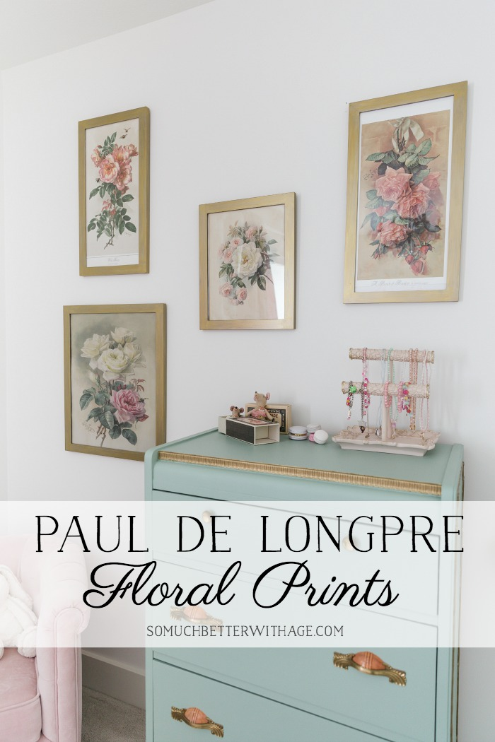 Paul do Longpre Floral Prints - So Much Better With Age