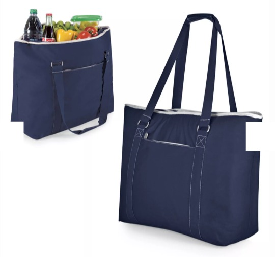 The Best Summer Picnic Items/navy tote - So Much Better With Age