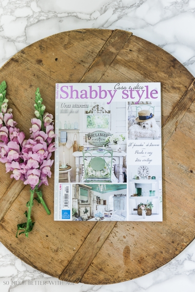 Featured in Two Magazines – Shabby Style & Country Sampler Farmhouse