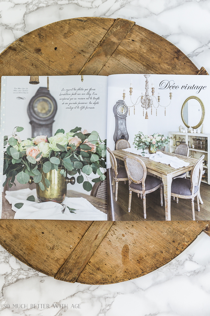 Shabby Style Magazine/French Vintage - So Much Better With Age