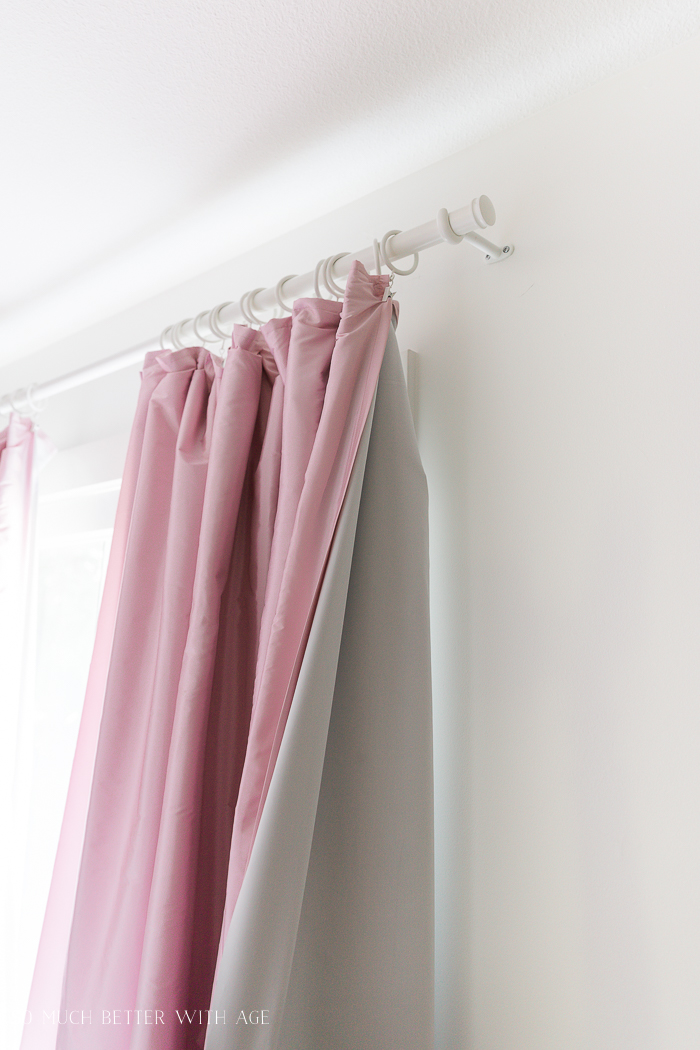 DIY Pinch Pleats with No Sewing/blackout curtains - So Much Better With Age