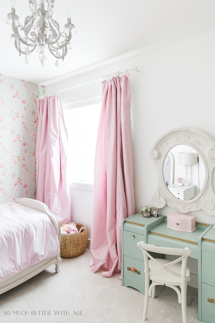 Simply White by Benjamin Moore - Best White Paint Color/girl's pink bedroom - So Much Better With Age